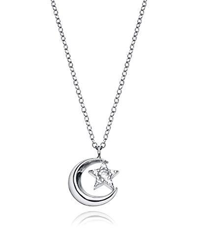 Collar Trend Viceroy 5061C000-38 mujer plata circonita