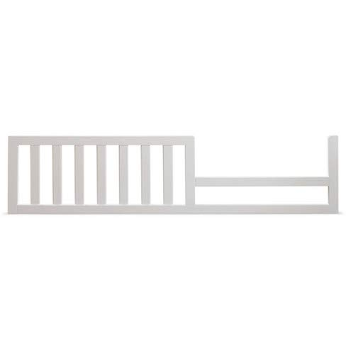 Toddler Bed Safety Guard Rail Conversion Kit for Select Sorelle Cribs (White)