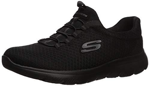 Skechers Women's Summits Sneaker, BBK, 6 M US