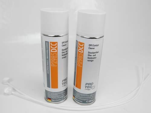 2x 400ml Diesel filtro de partículas limpiador y catalizador limpiador DPF p2985dcc