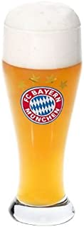 FC Bayern München FCB Weißbierglas, Bierglas 0,5 L 1 Glas