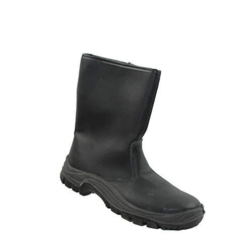 Auda Hokkaido SA S3 CI Sicherheitsschuhe Arbeitsschuhe Trekkingschuhe Stiefel Schwarz, Größe:38 EU