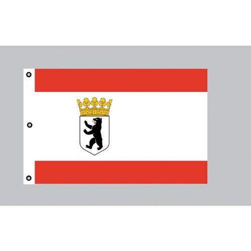 Berlin dienstflagge drapeau géant : 150 x 250 cm