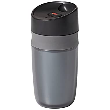 OXO Good Grips Single Serve Mini Travel Mug, Graphite- 10 ounce