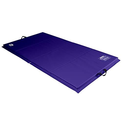 We Sell Mats Esterillas de ejercicio plegables - ECO4X8PR-50M, Púrpura