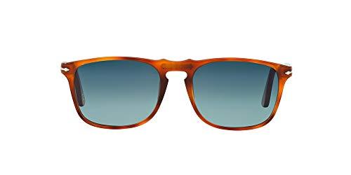 Persol Po3059s Gafas de sol  Rojo (Terra Diiena/Polarized Blute)  54 Unisex-Adulto