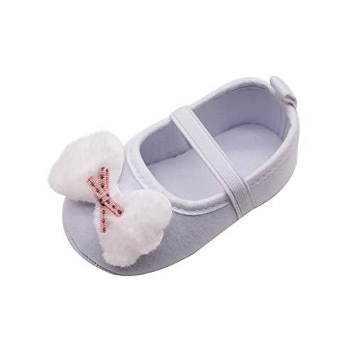 Lenfesh Babyschuhe Kleinkind Mädchen Bowknot Sandalen Neugeborene Beleuchteten Weichen Sohlen Prinzessin Schuhe Prewalker Bogen Applique Einzelschuhe Prinzessin Schuhe