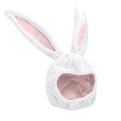 XmklovEyi Plüsch Kaninchen Hut Hase Osterhasen Hut mit Langen Hasenohren Hase Kappe...