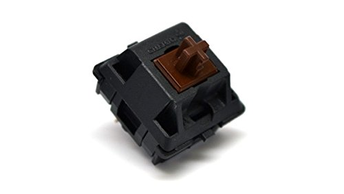 Cherry MX Brown Keyswitch (10 pack) - MX1AG1NN | Plate Mounted | Tactile Switch | by himalayanelixir