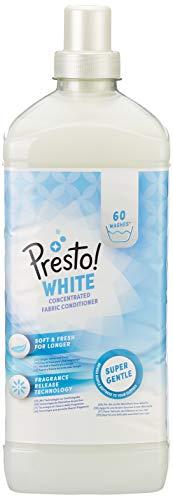 Amazon-Marke: Presto! Weichspüler weiß 360 Waschgänge (6 x 60 Waschladungen)