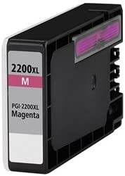 Club Toner Compatible Ink Cartridge Replacement for Canon PGI-2200XL M, 9268B001, Works with : MAXIFY MB5320, MB5020, iB4020 (Magenta)