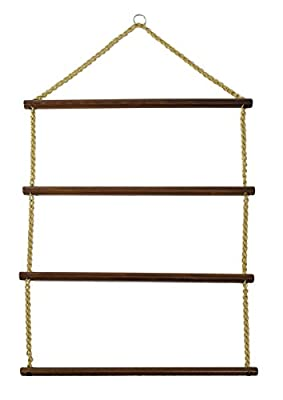 """Blanket Rack Suitable for Horse Blankets, Saddle Blankets, Pads and Towels, Extra Long- 36"""" Made in The USA"""