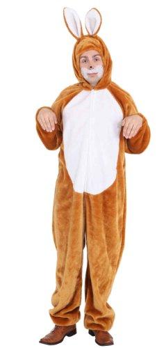 Orlob Hasenkostüm Unisex Kostüm Hase zu Karneval Fasching 160-175cm
