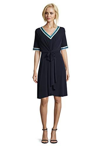 Betty Barclay Damen 1017/1271 Kleid, Blau (Dark Sky 8345), (Herstellergröße: 42)