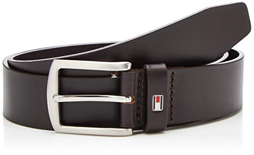 Tommy Hilfiger Herren Gürtel New Denton 3.5 Belt, Braun (TESTA DI MORO 965), 95 cm, E3578A1208965