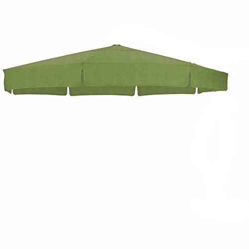 SUN GARDEN EASY SUN PARASOL Ersatzbezug ø 350cm Farbe : Grün B045 mi Dunkelgrüner Paspelierung (nicht abgebildet) in Polypropylene (Olefine) Qualität
