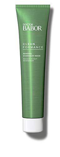 DOCTOR BABOR CLEANFORMANCE Renewal Overnight Mask, glättet und entspannt die Haut über Nacht, mit Prä- und Probiotika Technologie, 1 x 75 ml