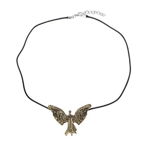 Koehope, collana da uomo e da donna The Mortal Instruments città dell'osso Tessa Clockwork Angelo collana per donne e uomini
