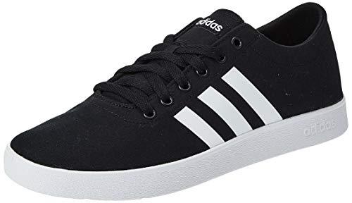 Adidas Easy Vulc 2.0, Zapatillas Hombre, Negro (Core Black/Footwear White/Grey 0), 44 EU