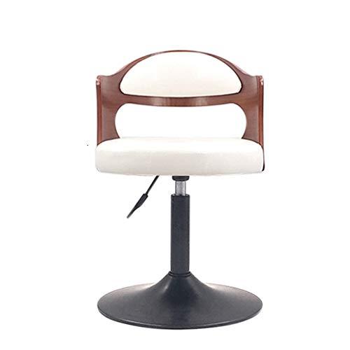 Tuqia Mobili Casa Colazione Chair Stoel, zwart, klassiek, draaibaar, gasdraaier, voor keuken en huis