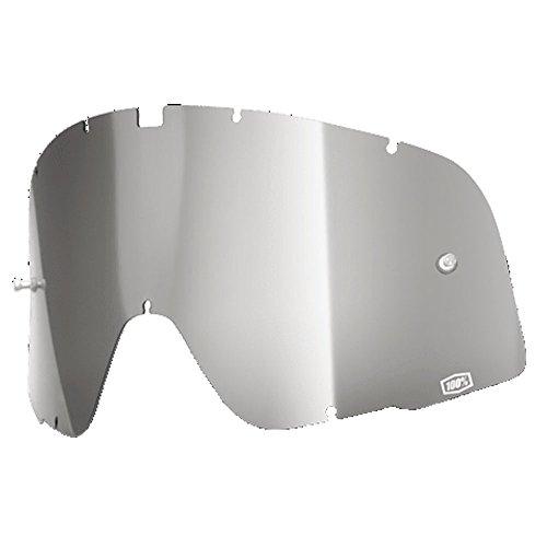 100% ERSATZSCHEIBE für Crossbrille Barstow - silber verspiegelt Größe UNI