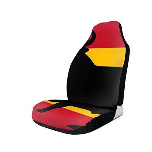 Little Yi Flagge von Spanien mit Osborne 'S Bull States Autositzbezüge Fahrzeugsitzschutz Autobezüge passen für die meisten Autos