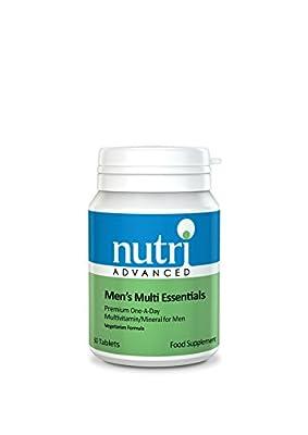 Nutri 50mg Multi Essentials Men 30 Tablets by TREZA
