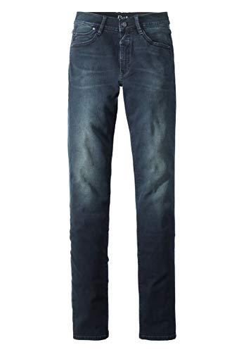 Paddocks`s Damen Jeans Pat - Slim Fit - Blau - Soft Blue Black, Größe:W44/L34, Farbe:Soft Blue Black (6002)