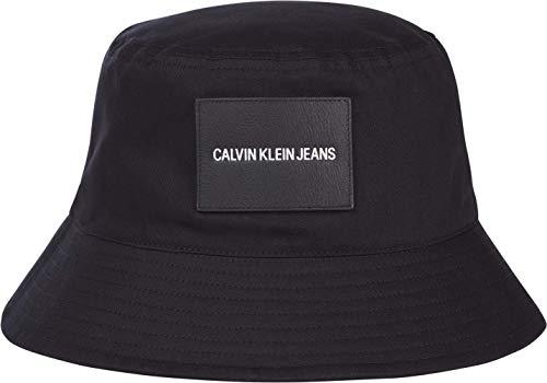 Calvin Klein Jeans INST Bucket Gorra de bisbol, Negro, One Size para Hombre