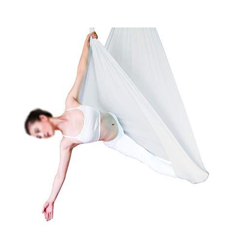 Fabax Anti-Gravity Yoga Hangmat, stuurwiel, schommel, vliegtuig, yoga, hangmat, set voor thuis, gym, hanging riem, schommel, trapeze