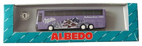 Milka - Weihnachten 1995 - Kässbohrer Setra S 215 HDH - von Albedo & Herpa
