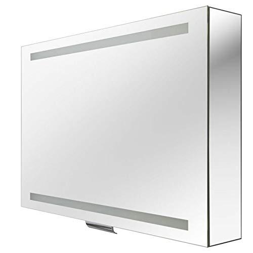 Keuco Spiegelschrank Edition 300 950 x 650 x 160 mm silber-gebeizt-eloxiert