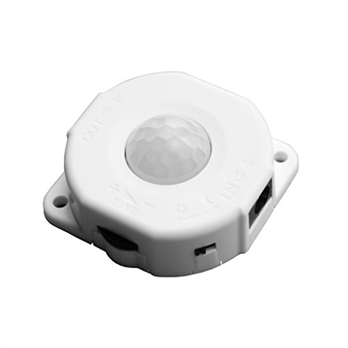 NA. RipengPI Infrared Sensor Switch, Automatic DC 12V-24V 6A Infrared PIR Motion Sensor Switch For LED Light Lamp
