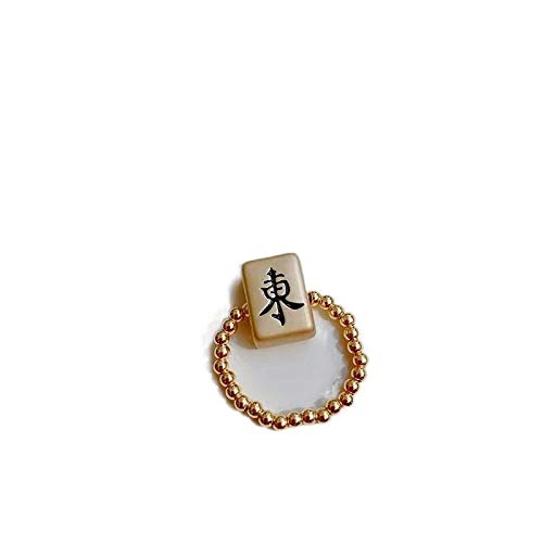 HuangHuang El anillo de adivinación de la fortuna de Mahjong, puede ayudarte a encontrar buenas tarjetas para que no seas invencible en la mesa de Mahjong