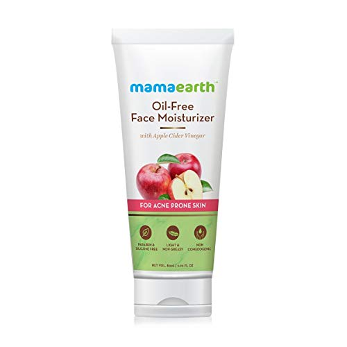 Mamaearth Oil-Free Moisturizer For Face With Apple Cider Vinegar For Acne Prone...