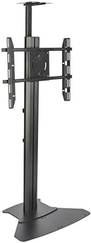 Displays2go LPGP36FB Heavy Duty TV Stand for 30-84 Inch TVs, VESA Mount for HDTV Flat Panel