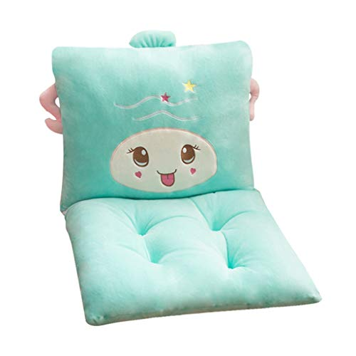 LLLD Sun Lounger Cushion Chair Cushions, 100% Short Plush One-piece Thicken Cushion Back Office Waist Belt Seat Pads Dorm Room Stool Plush Butt Dining Chair Seat 12 Constellations Cushions