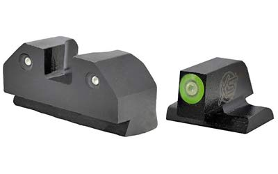 Canik XS Sights, RAM Night Sights, Green Front Dot, Fits TP9SF, TP9SFX, TP9SF Elite, TP9 Elite SC and Current Production TP9SA