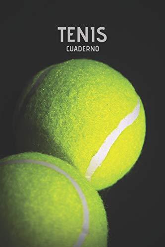 Tenis Cuaderno: Cuaderno Lineado Profesional Jugador Deporte Tenis