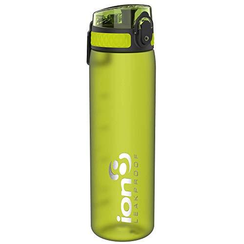 Ion8 Borraccia Senza Perdite, Senza BPA, 500ml, Verde