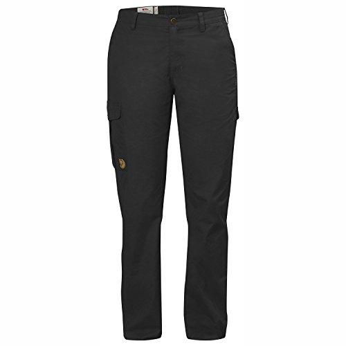 FJÄLLRÄVEN Damen Övik Trousers Curved W Lange Hose, Dark Grey, 40