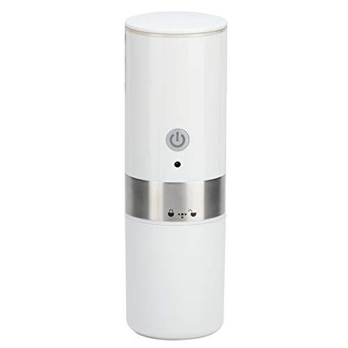 Máquina de café espresso portátil, mini USB totalmente automático con control de un botón, cafetera de servicio individual, máquina de café con escala de capacidad de agua para viajes de campamento
