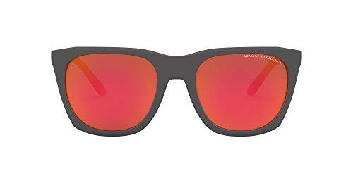 Armani Exchange - - All - Grey Men Sunglasses - Default Title