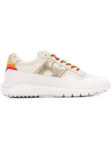 Hogan Luxury Fashion Damen HXW3710AP24KKP4085 Weiss Leder Sneakers | Jahreszeit Outlet