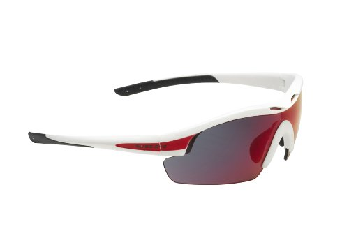Swiss Eye Sportbrille Novena, white matt/red, One size