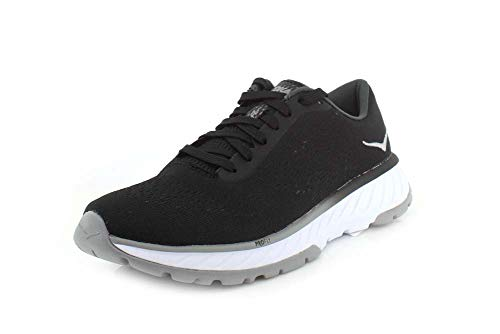 HOKA ONE ONE Womens Cavu 2 Black/White Running Shoe - 9.5