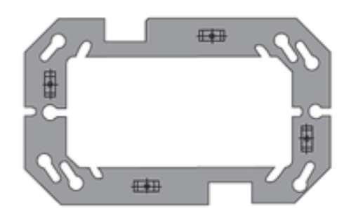 Bjc rehabitat - Placa con bastidor espesor 3 estrechos serie teide