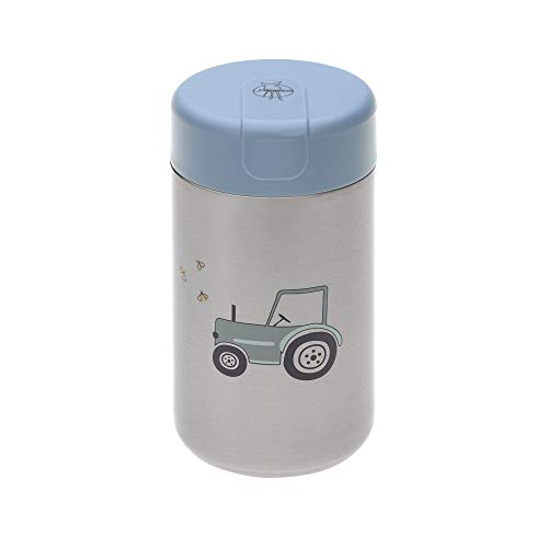 LÄSSIG Thermo Warmhaltebecher auslaufsicher 480 ml/Food Jar Big Adventure Tractor