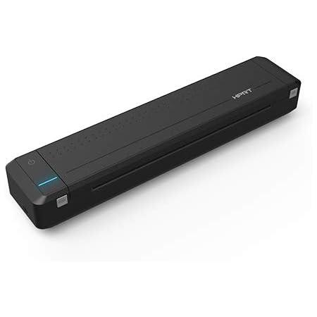 HPRT MT800 - Imprimante Portable (iOS & Android) - Impression Rapide Format A4 (120g) - Taille Mini - Noir