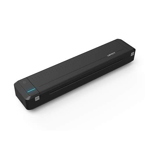 HPRT MT800 – Stampante portatile (iOS e Android) – Stampa rapida formato A4 (120 g) – Mini – Nero
